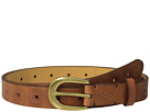 Fossil - Floral Perf Emboss Belt