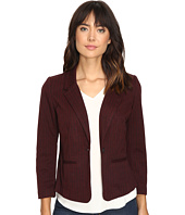 kensie - Stretch Herringbone Blazer KS9K2220
