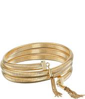 Vince Camuto - Tassel Coil Bracelet w/ Chain