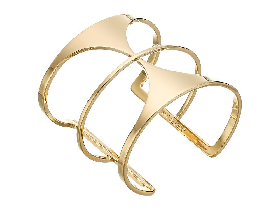 Vince Camuto - Super Fine T-Bar Cuff Bracelet (Gold) Bracelet