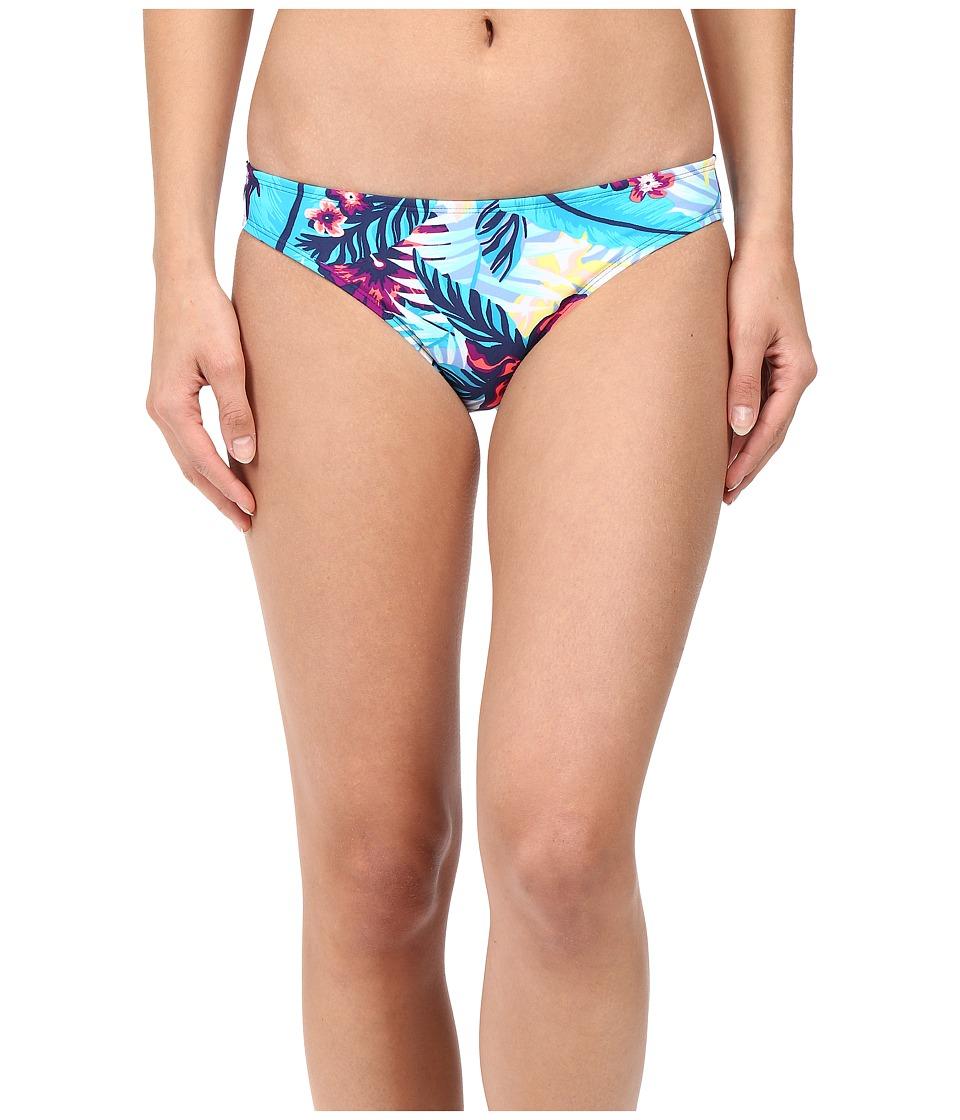 Roxy - Line It Up 70s Pants Bottom (Norfolk Tropical Diamond Blue) Women's Swimwear