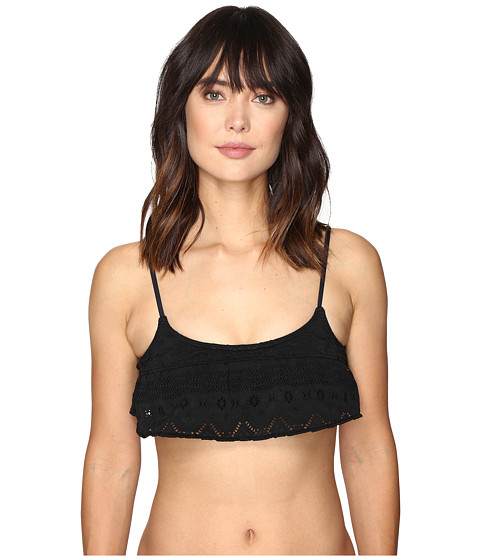 Roxy Cozy And Soft Flutter Bikini Top
