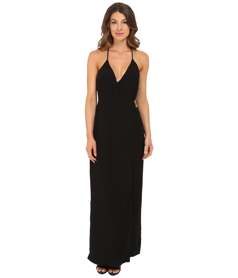 KEEPSAKE THE LABEL Oasis Maxi Dress Black Womens Dress