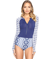 Roxy - Visual Touch Long Sleeve One-Piece Swimsuit