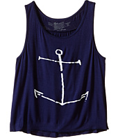 The Original Retro Brand Kids - Anchor Rayon Swingy Tank Top (Little Kids/Big Kids)