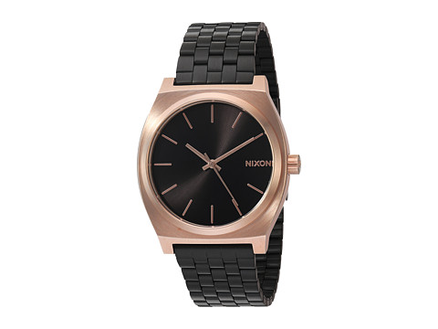 Nixon The Time Teller X Nightshade Collection - Black/Rose/Black