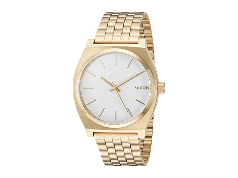 Nixon Time Teller - Gold/White