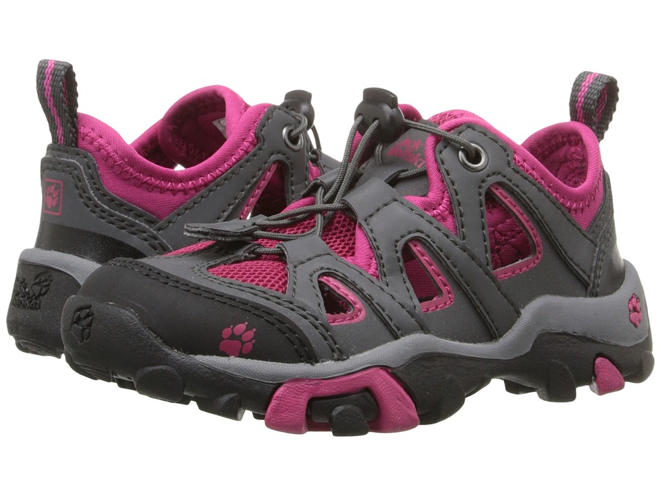 Jack Wolfskin Kids Mountain Attack Air Toddler/Little Kid/Big Kid Azalea Red Kids Shoes
