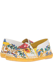 Dolce & Gabbana Kids - Escape Maiolica Bouquet Espadrille (Toddler/Little Kid/Big Kid)