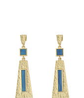 Vince Camuto - Textured Three Part Drop Earrings
