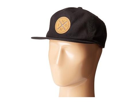 Nixon The Beachside Snapback Hat - Black
