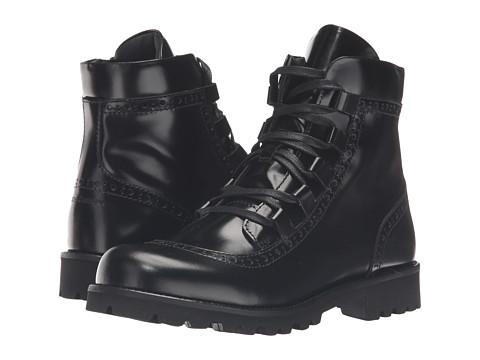 Dolce & Gabbana Kids City Lace-Up Boot (Little Kid/Big Kid) - Black