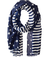 Steve Madden - Two-Tone Stars and Bars Day Wrap