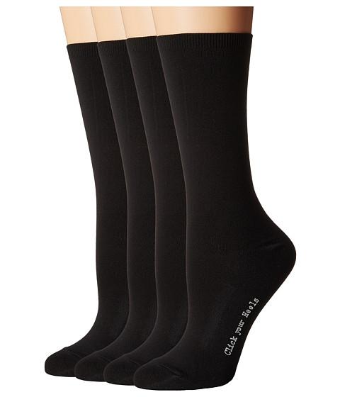 HUE Body Socks 4-Pack - Black Pack