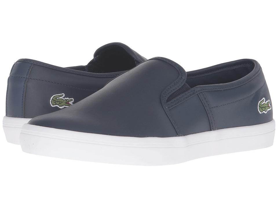 Lacoste - Gazon BL 1 (Navy) Womens Shoes