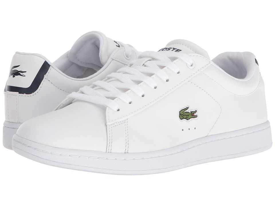 Lacoste Carnaby EVO BL 1 (White) Women's Shoes