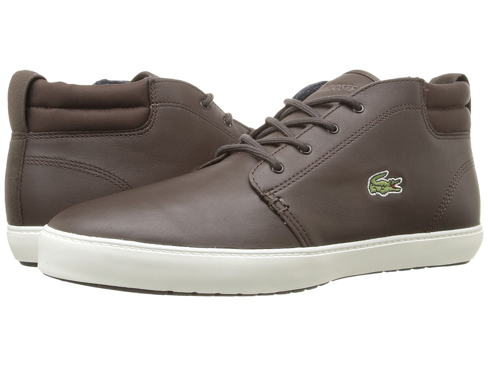 Lacoste - Ampthill Terra 316 1 (Dark Brown) Men