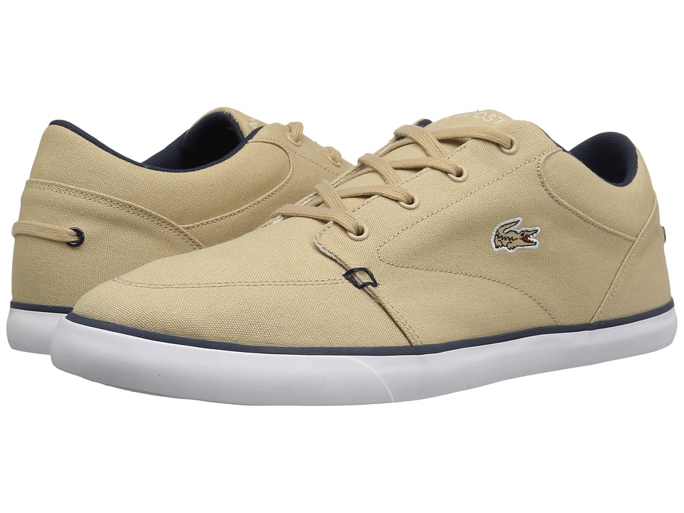 Lacoste - Bayliss 316 3 (Natural/Navy) Men