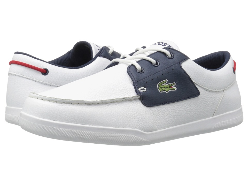 Lacoste - Codecasa 316 1 (White/Navy) Men