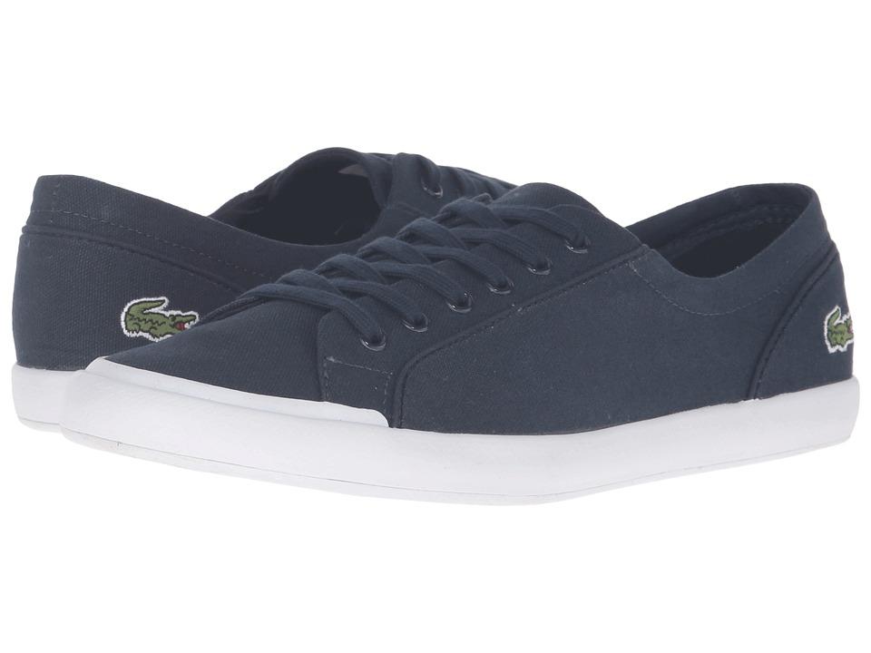 Lacoste - Lancelle BL 2 Canvas (Navy) Womens Shoes