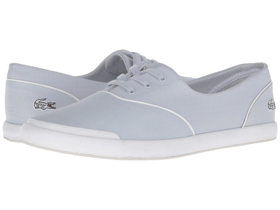 Lacoste - Lancelle 3 Eye 316 3 (Light Grey) Women