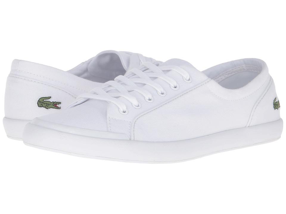 Lacoste Lancelle BL 2 Canvas (White) Women's Shoes