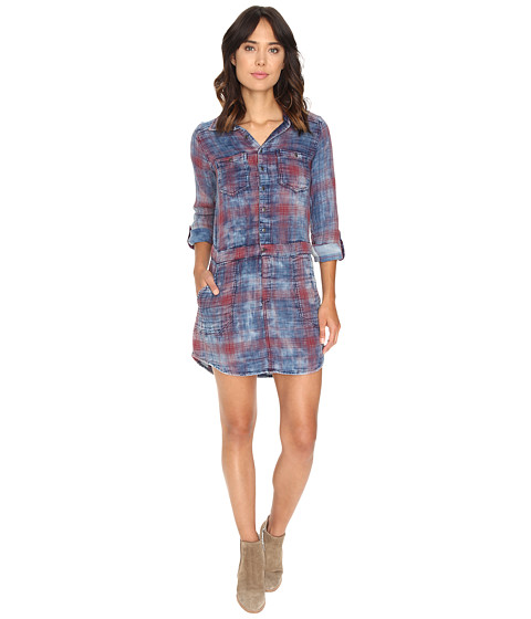 Blank NYC Plaid Dress in Jitney