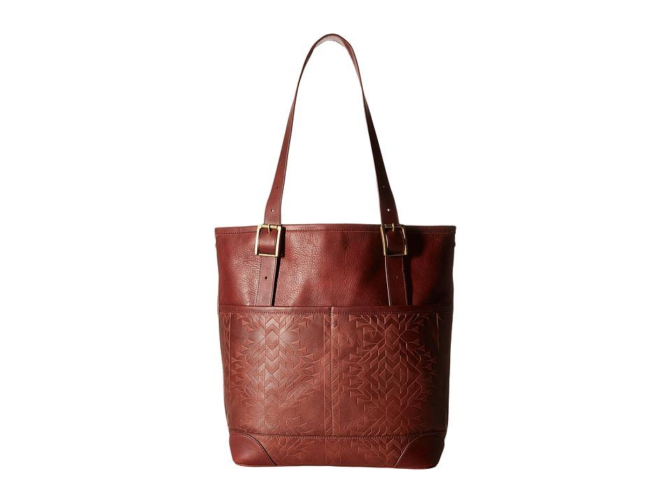 Pendleton - Debossed Utility Tote (Tolovana) Tote Handbags