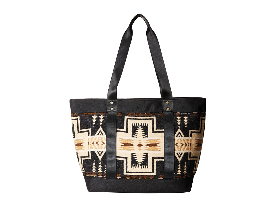 Pendleton - Large Zip Canvas Tote (Harding Oxford Mix) Tote Handbags