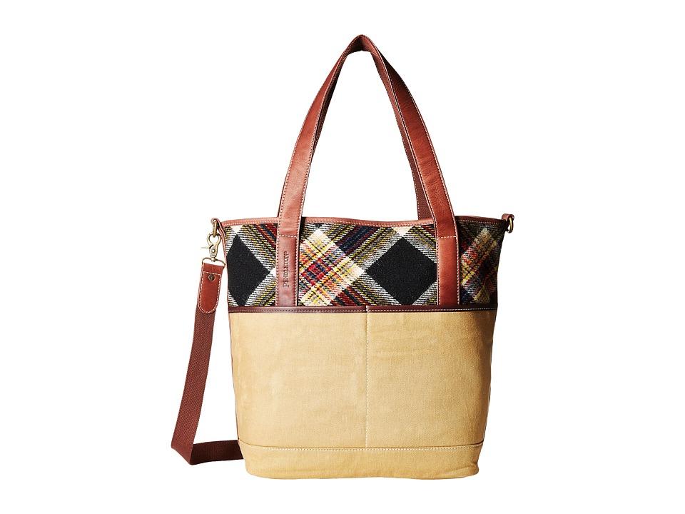 Pendleton - Manly Tote (Acadia Plaid) Tote Handbags
