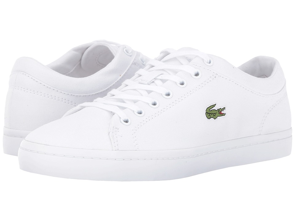 Lacoste Straightset BL 2 Canvas (White) Women