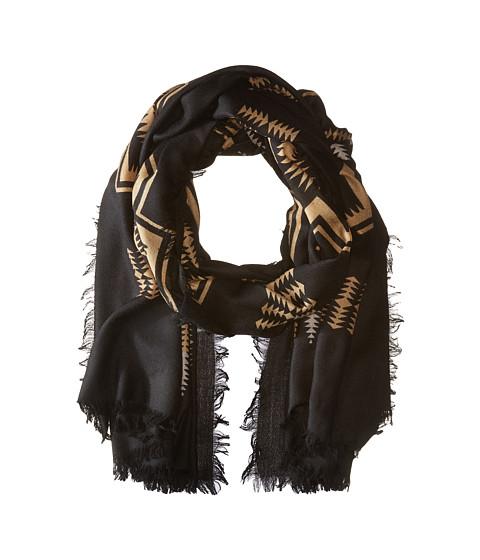 Pendleton Oversize Featherweight Wool Scarf - Harding Black