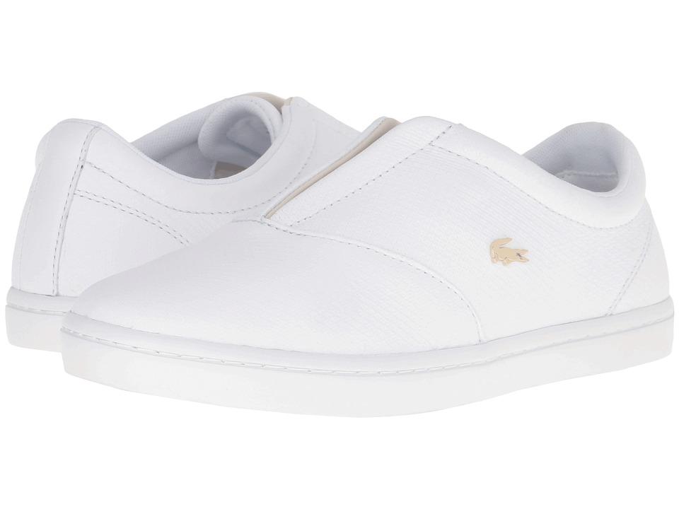 Lacoste - Straightset Slip 316 2 (White) Women