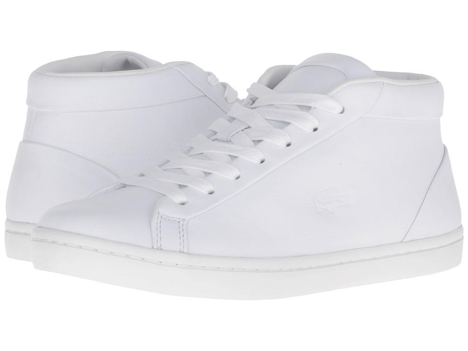 Lacoste - Straightset Chukka 316 1 (White) Women