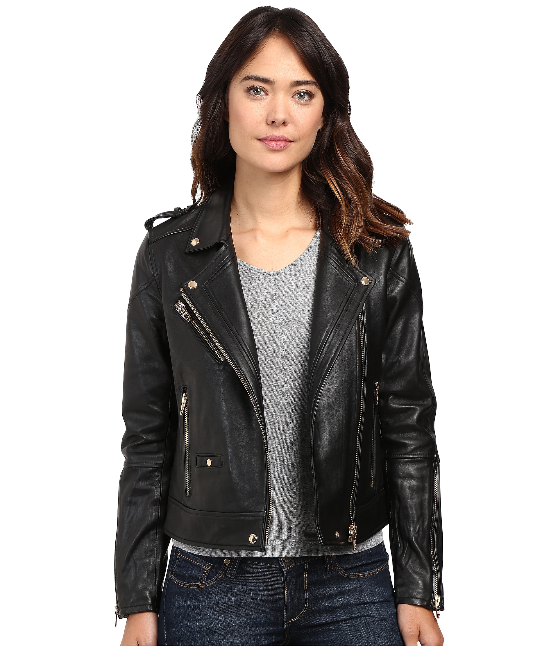 women leather jackets, Women at 6pm.com