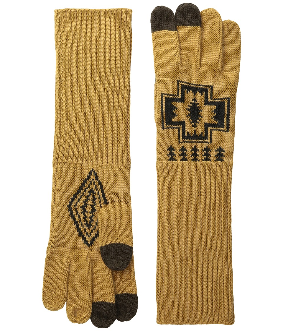 Pendleton Long Gloves (Harding Oxford Mix) Wool Gloves