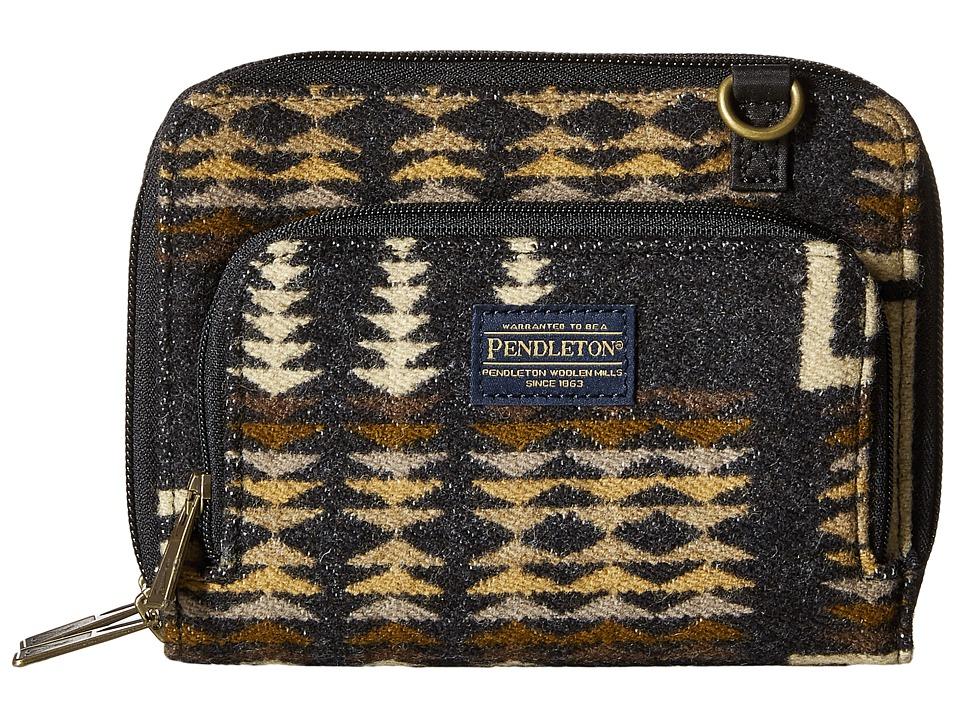 Pendleton - Wallet on a Strap (Harding Oxford Mix) Wallet Handbags