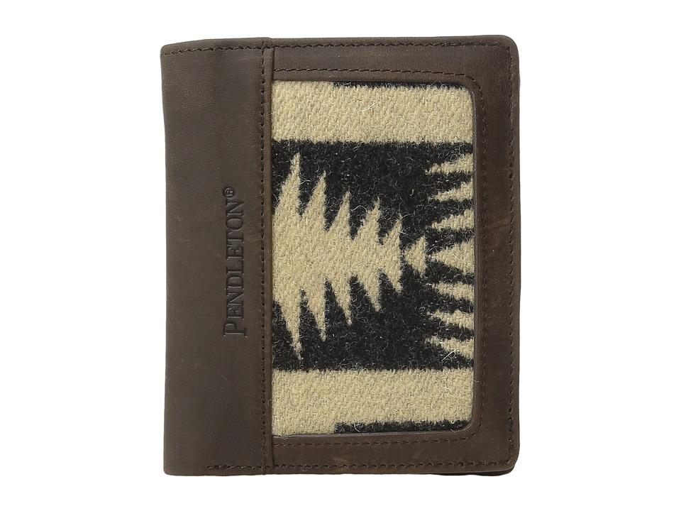 Pendleton - Leather Trim Bi-Fold Wallet (Harding Oxford Mix) Bi-fold Wallet