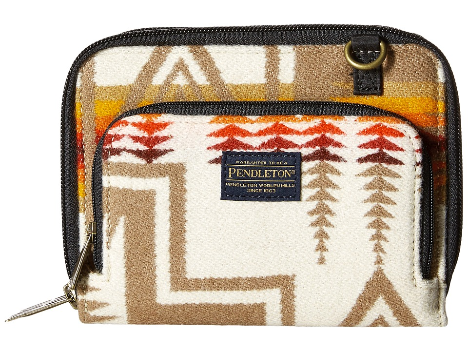 Pendleton - Wallet on a Strap (Harding Ivory) Wallet Handbags