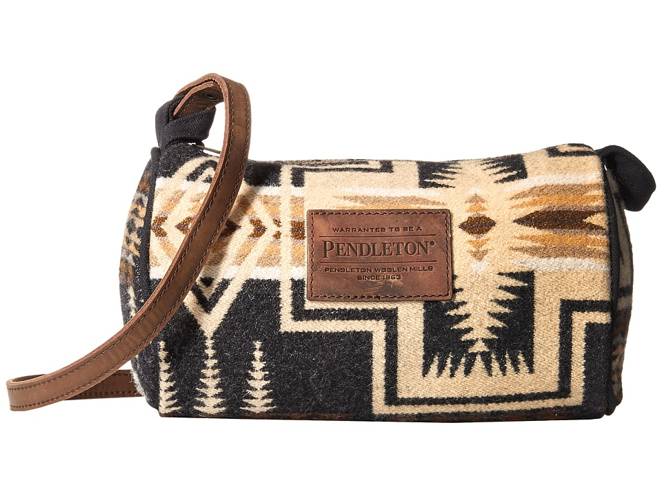 Pendleton - Dopp with Leather Strap (Harding Oxford Mix) Bags