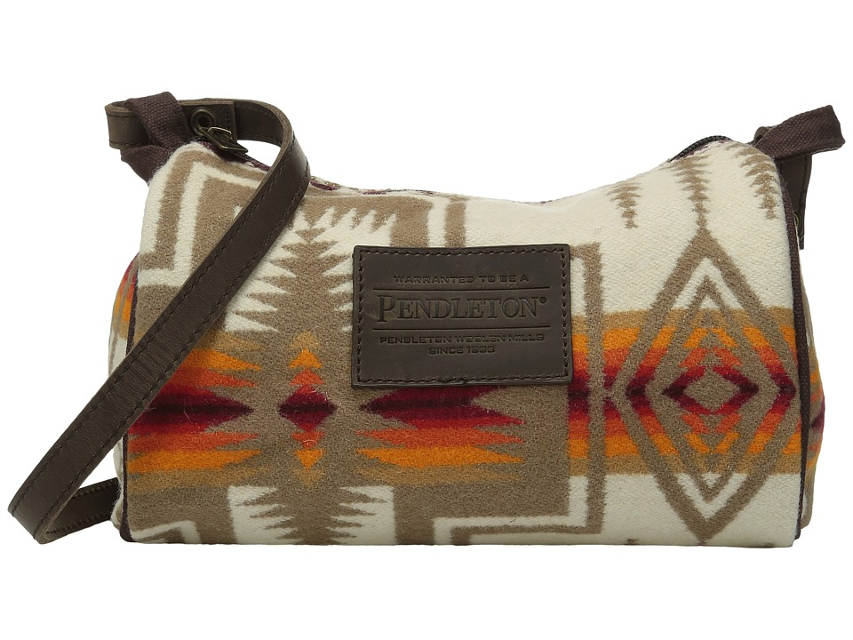 Pendleton - Dopp with Leather Strap (Harding Ivory) Bags
