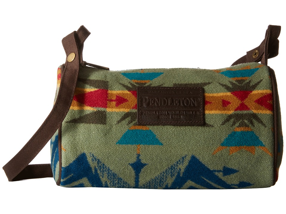 Pendleton - Dopp Bag with Strap (Echo Peaks Sage) Bags