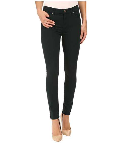 7 For All Mankind The Ankle Skinny in Dark Forest