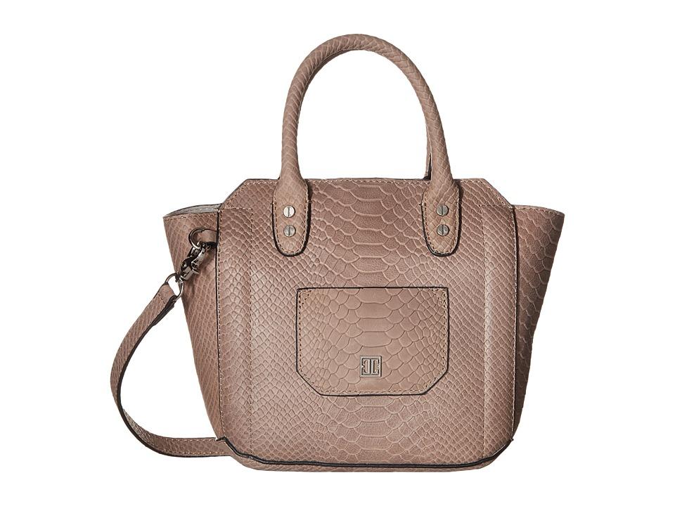 Ivanka Trump - Tribeca Solutions Small Satchel (Pale Taupe) Satchel Handbags