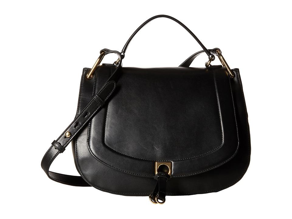 Ivanka Trump - Claudia Satchel (Black) Satchel Handbags