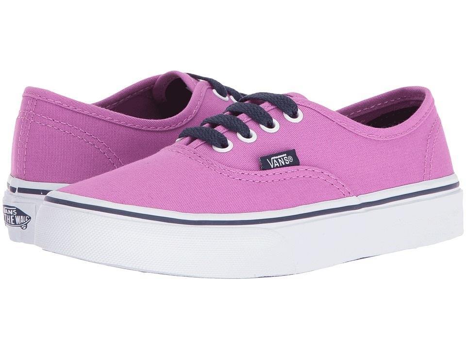 Vans Kids - Authentic (Little Kid/Big Kid) ((Pop) Eclipse/Rosebud) Girls Shoes