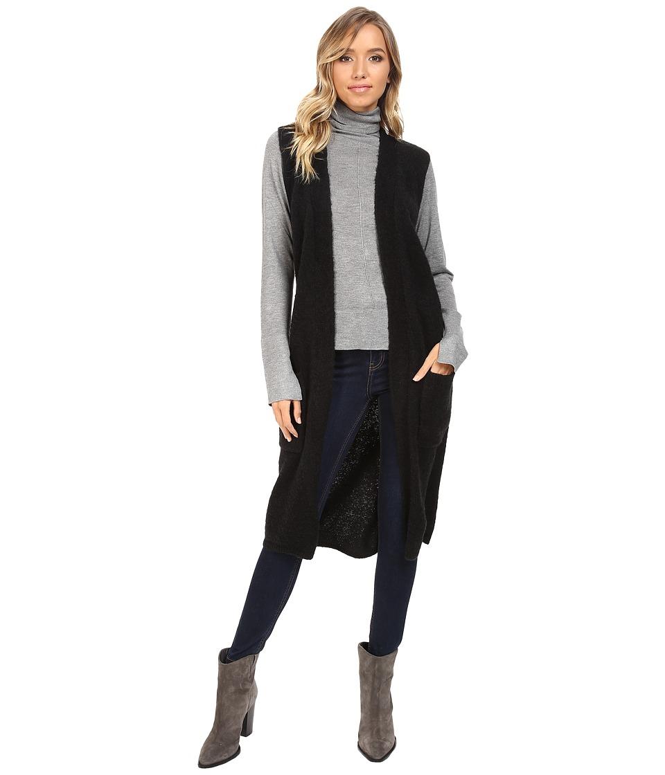 Echo Design Knit Cross Over Vest (Black) Women