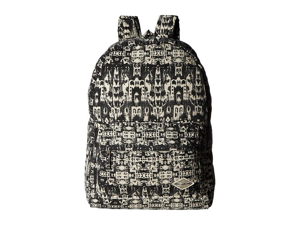 Billabong Hand Over Love Backpack (Distressed Black) Backpack Bags