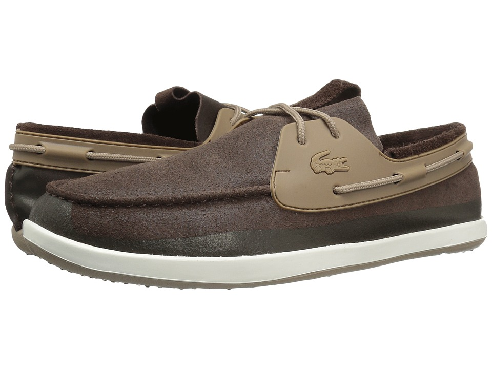 Lacoste - L.Andsailing 316 2 (Dark Brown) Men