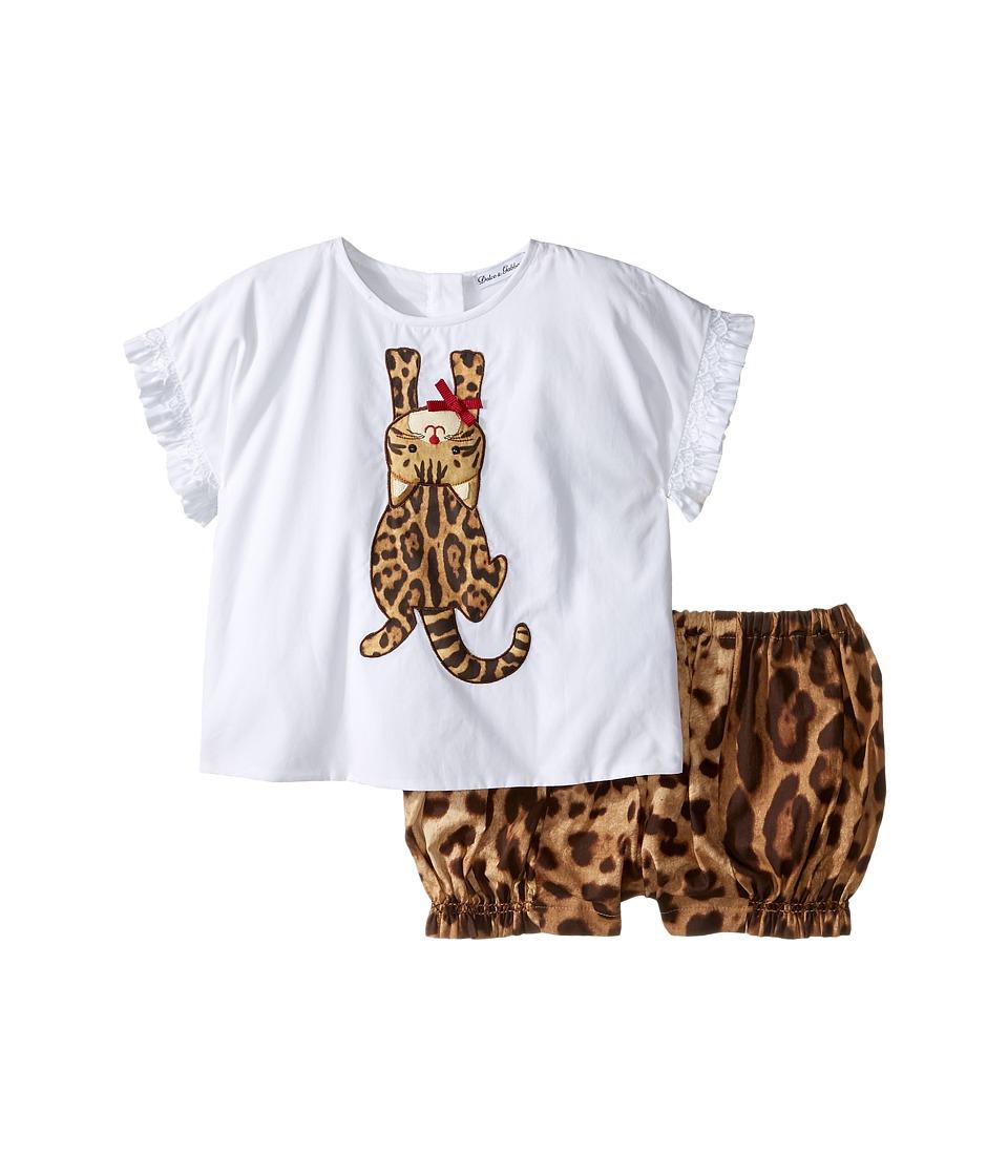Dolce & Gabbana Kids - Zambia T-Shirt/Shorts One-Piece